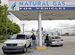 natural gas options